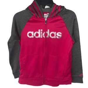 ❤️ 2 FOR 20 ❤️ Girls Adidas Zip Up Jacket